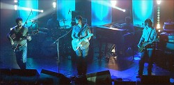 Starsailor, with Mark Collins, perform at ULU in August 2003.